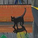 andrewrobinsonart puppo cat norwich city