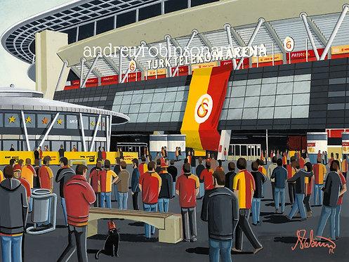 Galatasaray Turk Telekom Arena High Quality Framed Art Print