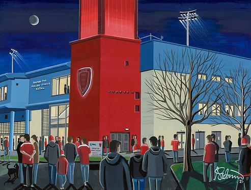 Hull KR, Craven Park Stadium Framed High Quality A