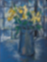 still life_with_daffodils - Giorgi Baram