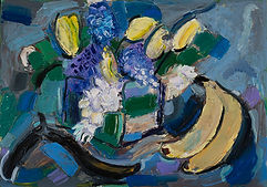 still life_with_flowers_&_bananas - Gior