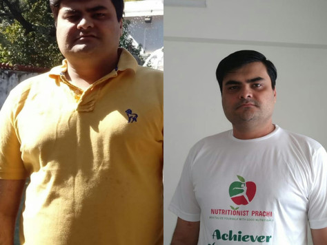 Weight Loss Achiever Of The Month