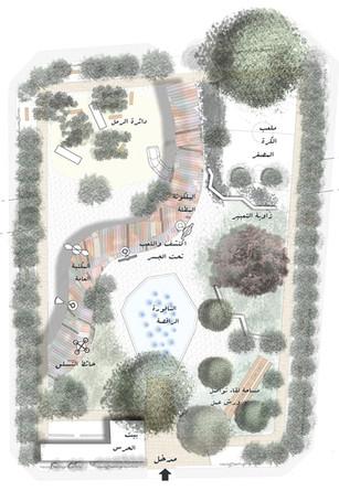 Karantina public garden : Overall plan