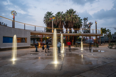 Karantina public garden :Joke Fountain