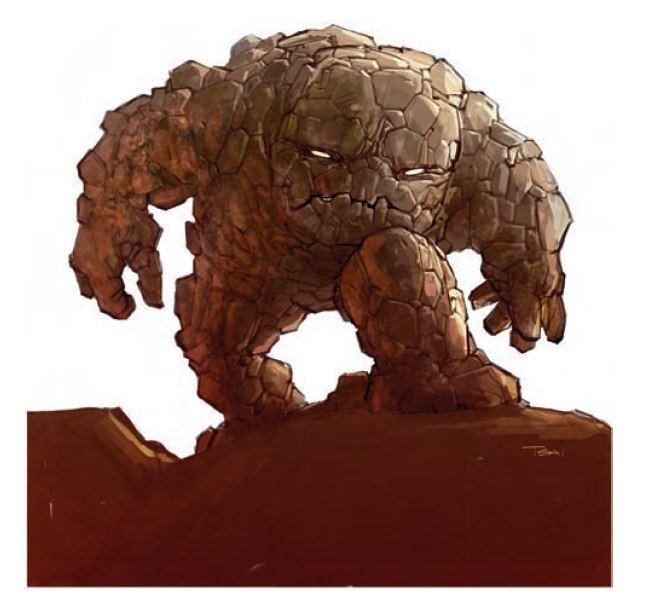 Galeb Duhr monster dungeons & dragons