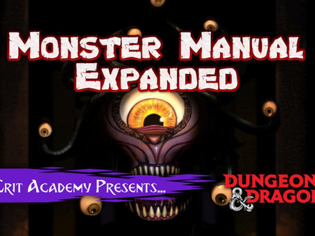 The Ultimate D&D Monster Book! Monster Manual Expanded