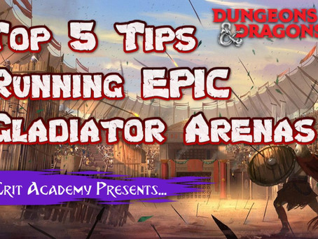 5 Tips for Running Epic Gladiator Arenas