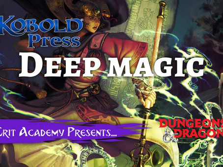 Kobold Press' Deep Magic 5e Supplement