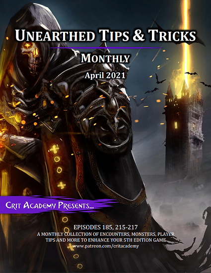 Unearthed Tips & Tricks Monthly-April 2021