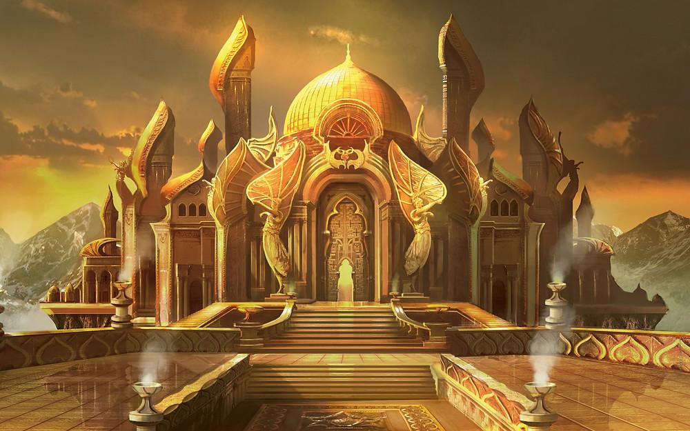 golden castle dungeons & dragons