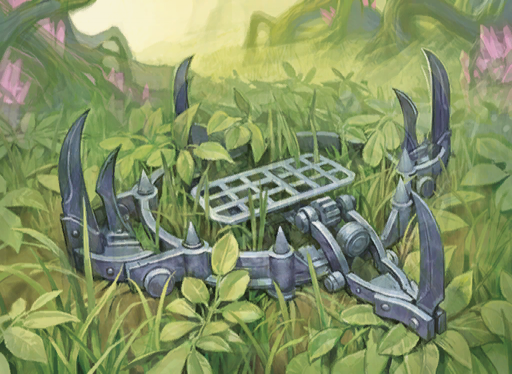Spring jaw trap Dungeons and Dragons