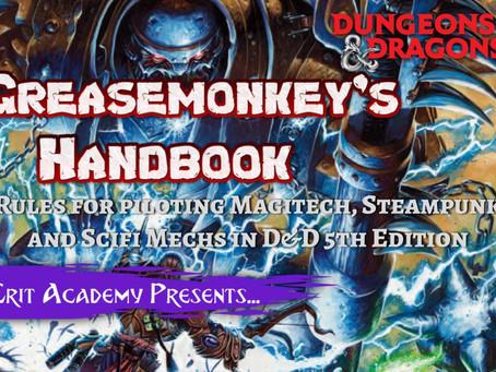 The Greasemonkey's Handbook