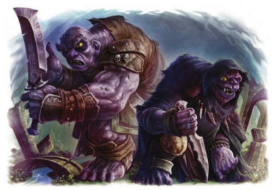 Fomorian monster dungeons & Dragons