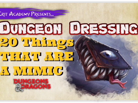 Dungeon Dressing: 20 Things that are Actually a Mimic