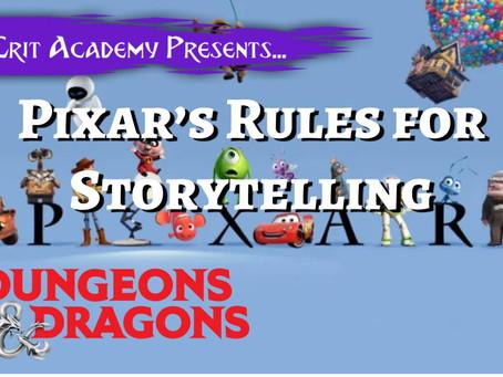 Rules for Storytelling
