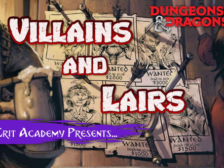 Villains and Lairs | w/Jeff Stevens