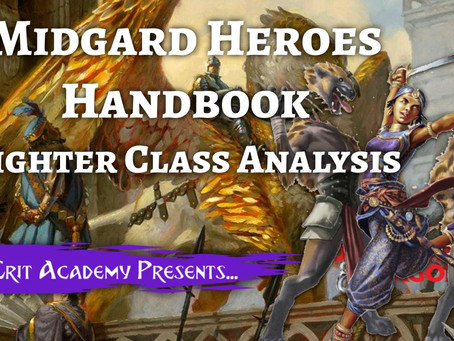 Midgard Heroes Handbook: Fighter Class Analysis Guide