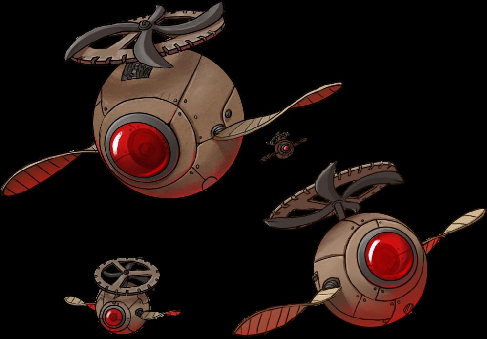 Capes & Crooks Gadgeteer Drones