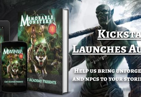 Memorable Monster Kickstarter! Coming Soon!