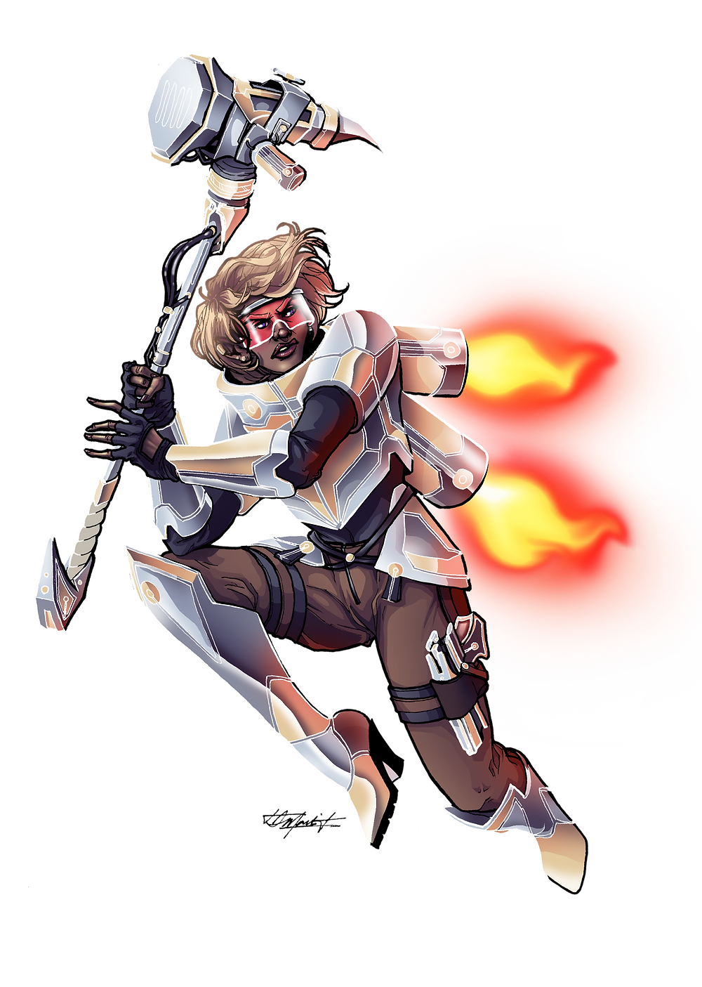 Capes & Crooks Gadgeteer Hero