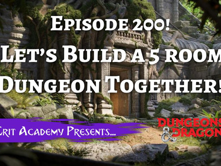 Let's Build a 5 Room Dungeon Together