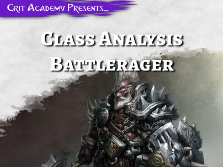Class Analysis: Battlerager