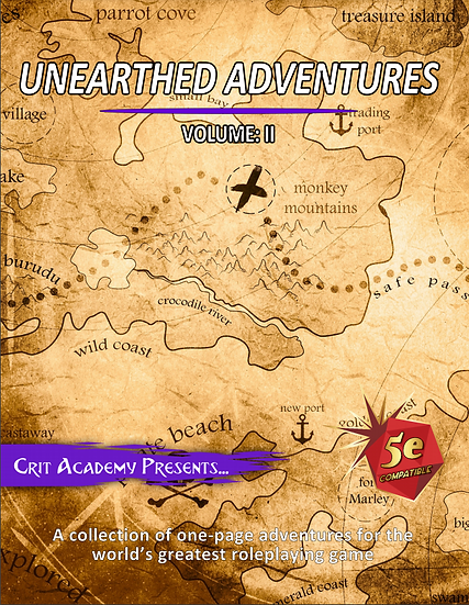 Unearthed Adventures: Volume II