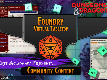 Foundry Virtual Tabletop