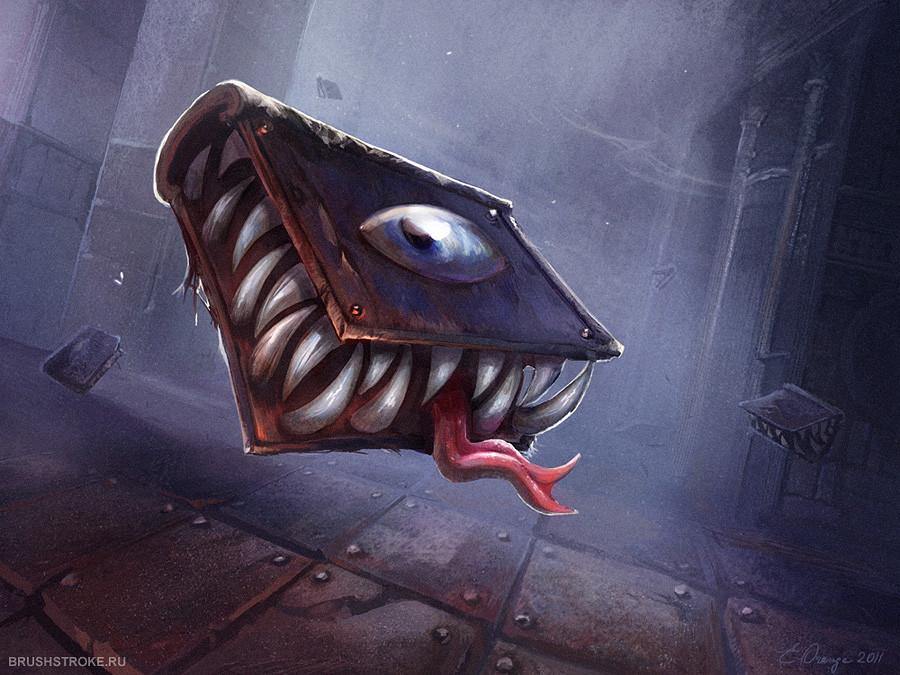 Mimic, Mimic Book Monster
