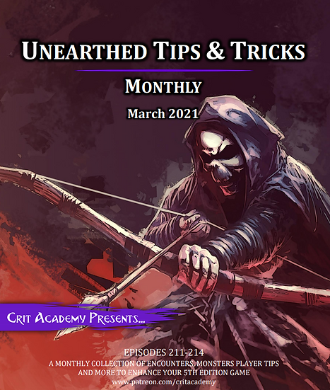 Unearthed Tips & Tricks Monthly-March 2021