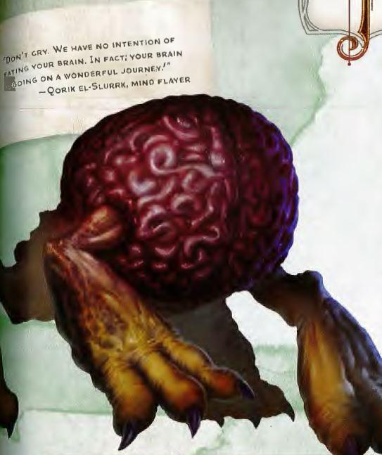 Intellect Devourer monster D&D dungeons & dragons