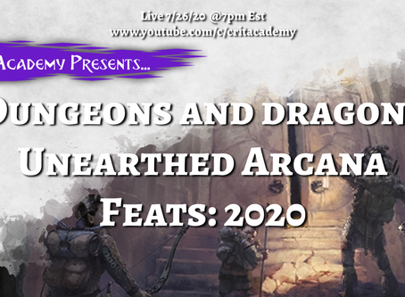 Unearthed Arcana: Feats 2020