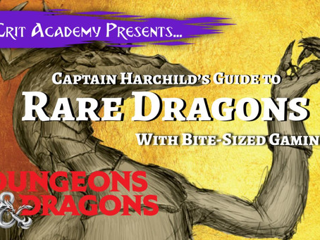 Captain Hartchild's Guide to Rare Dragons