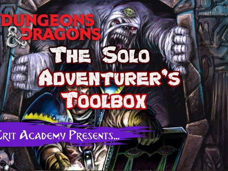 The Solo Adventurer's Toolbox