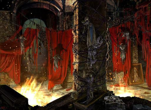 D&D dungeon crypt