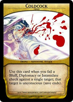 Dungeons and Dragons Drama Cards