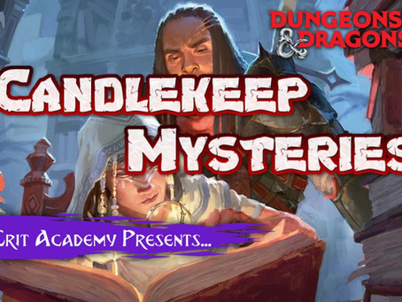 Candlekeep Mysteries: D&D Adventure Book