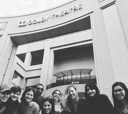 Group outside of Dolby Theatre