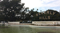 View of Beverly Hills sign