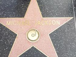 Michael Jackson star on Walk of Fame