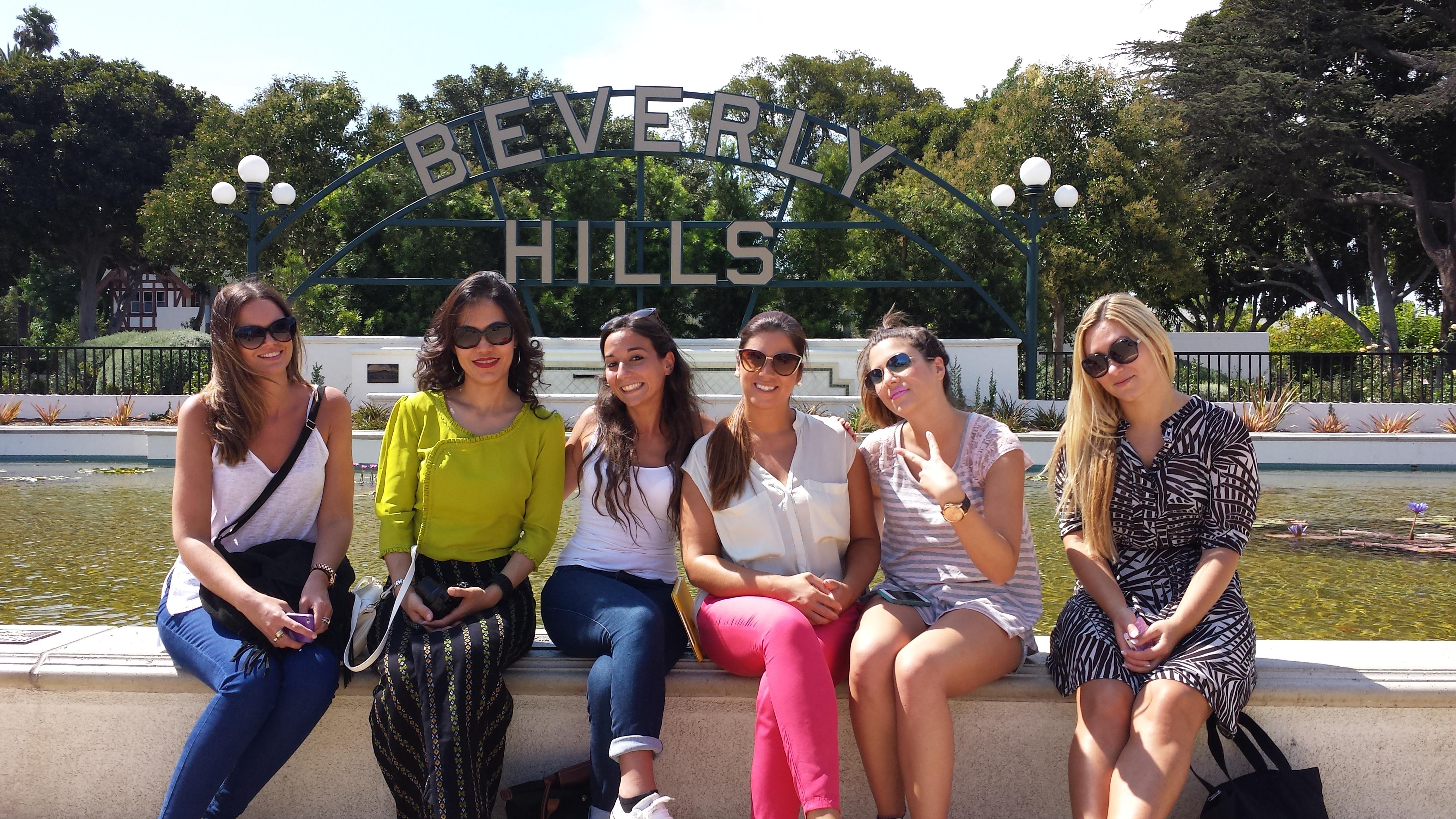 Girlfriends at Beverly Gardens Park