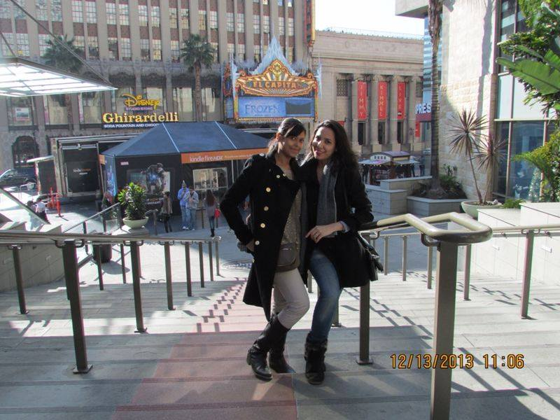 Tour guests at Hollywood & Highland