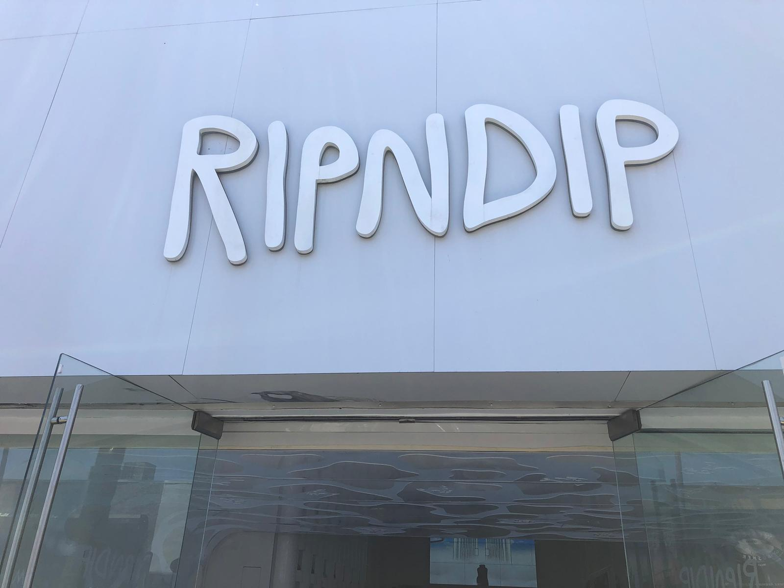 RipNDip Store Entrance
