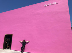 The Paul Smith Pink Wall