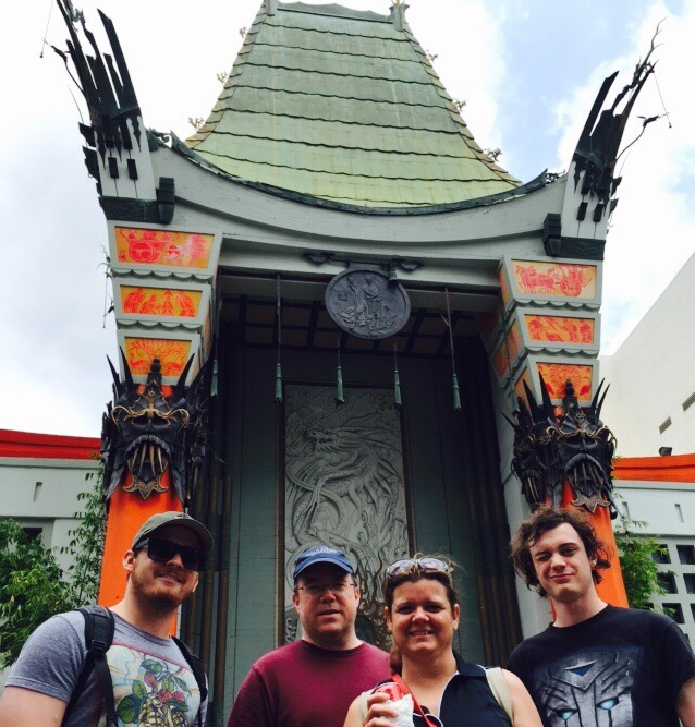 Family at TCL Chinese Theatre