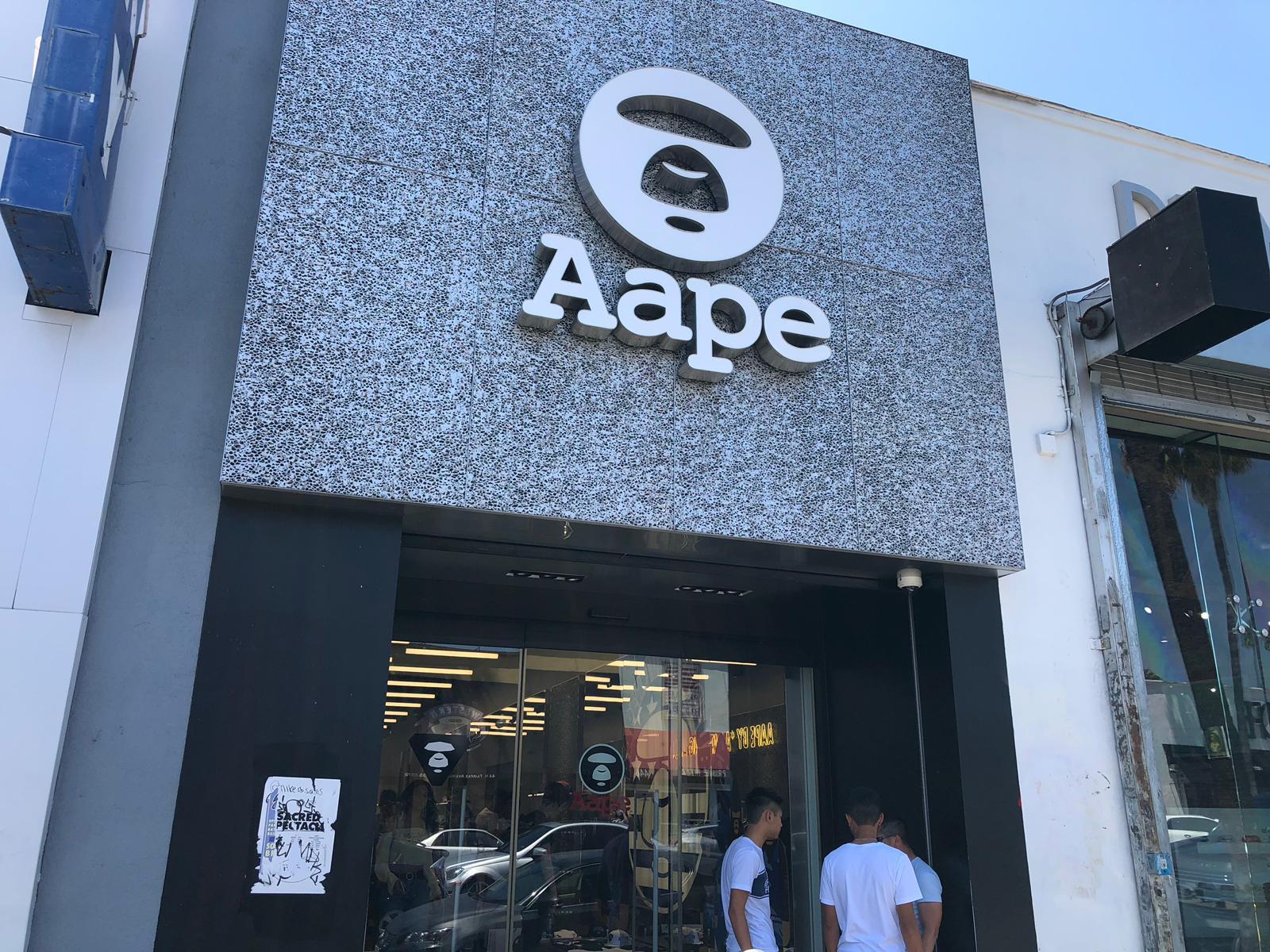 Aape Store Entrance