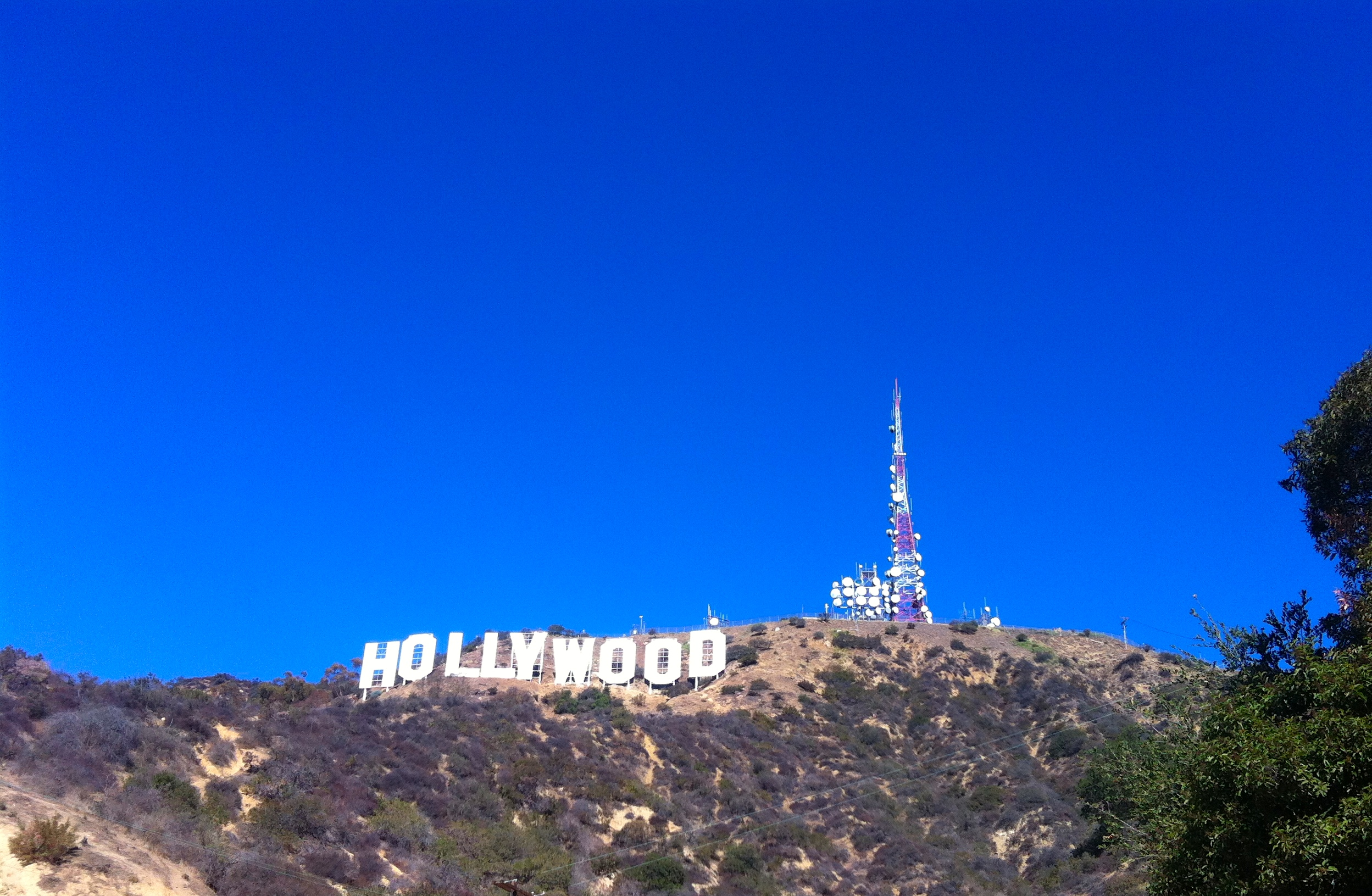 View of the Hollywood Sign