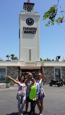 Friends at Original Farmers Market