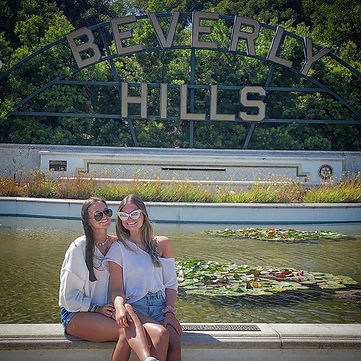 Beverly Gardens Park in Beverly Hills is