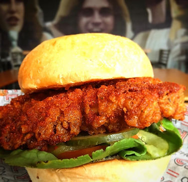 Hot Chicken Sandwich